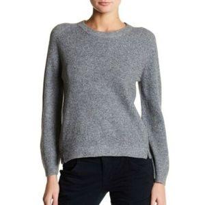 J Brand Burlington Ribbed Crewneck Wool Sweater